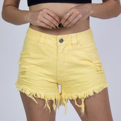 LOOK-FRENTE-HOT-PANTS-CLASSIC-JEANS-AMARELO