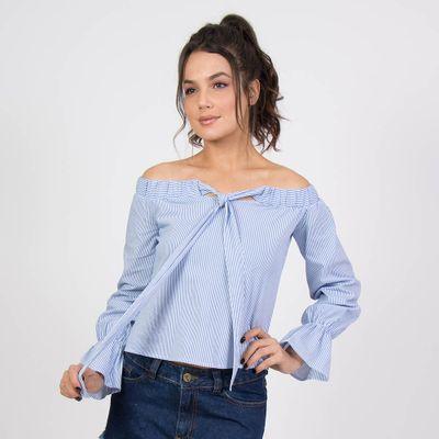 Camisa-Cascais-Azul-Frontal