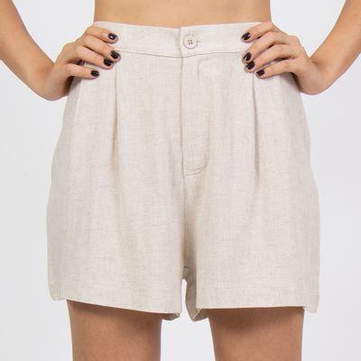 Shorts-linho-pregas-frente