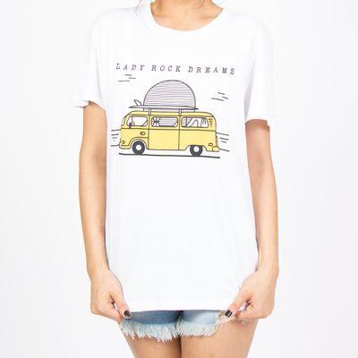 T-shirt-Ampla-Kombi-Amarela-frente