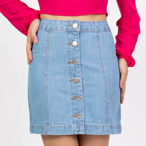 Saia-Jeans-com-Recortes-Frente