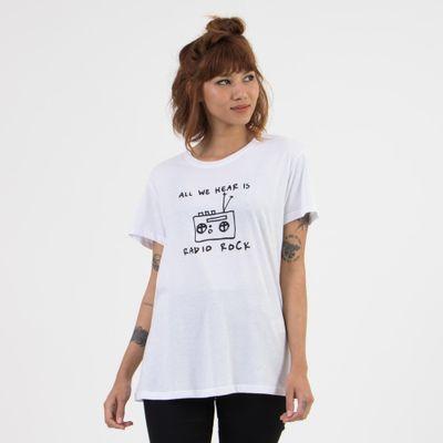 T-shirt-Ampla-Estampa-Radio-Rock-Frente-