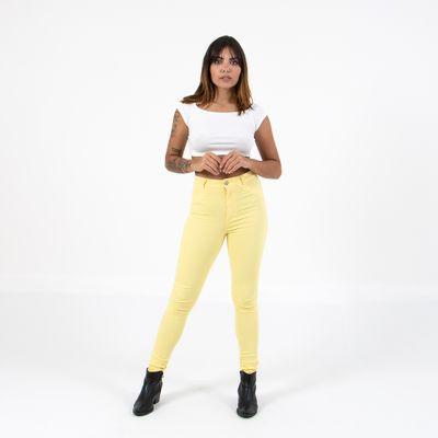 Calca-Hot-Pants-Amarelo-Frente-