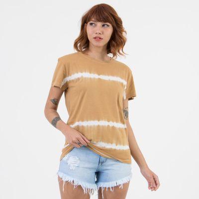 T-shirt-Tie-Dye-Mostarda-Frente-
