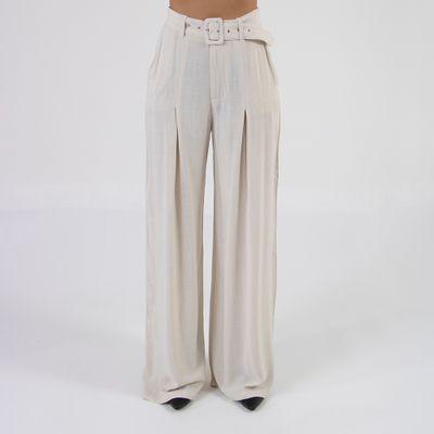 calca-pantalona-lady-rock-com-cinto-creme-frente