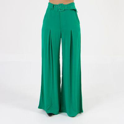 calca-pantalona-lady-rock-com-cinto-verde-frente