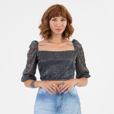 Blusa-Cropped-Lady-Rock-Decote-Quadrado-Black-frente