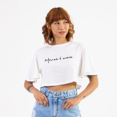 T-Shirt-Cropped-Lady-Rock-Menos-e-Mais-Frente