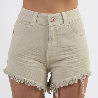 Shorts-Hot-Pants-Pistache-Amassado-Frente