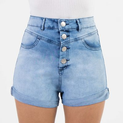 Short-Hot-Pants-Lady-Rock-com-Recortes-e-Barra-Dobrada-Frente