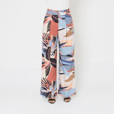 Calca-Pantalona-Lady-Rock-Twill-Folhagens-Frente