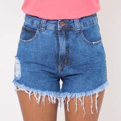 Short-Hot-Pants-Lady-Rock-com-Destroyed-e-Puidos-Lavagem-Media-Frente