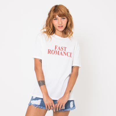 T-Shirt-Lady-Rock-Fast-Romance-Frente