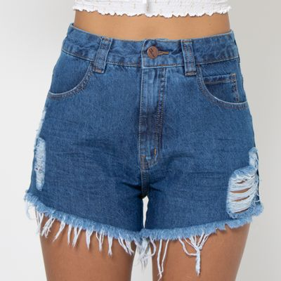 Short-Hot-Pants-Lady-Rock-Lavagem-Media-Marmorizada-Frente