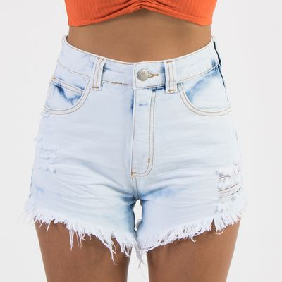 Shorts-Hot-Pants-Lanca-Perfume-Destroyed-Amassado-Frente