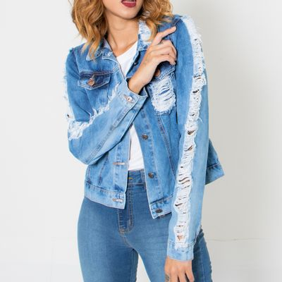 aqueta-Media-Jeans-Lady-Rock-Destroyed-Frente