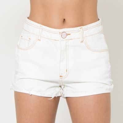 Short-Confort-Lady-Rock-com-Barra-Dobrada-Off-White-Frente