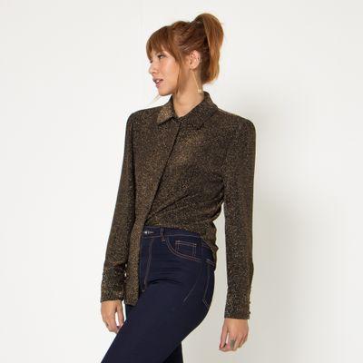 Camisa-Lady-Rock-Manga-Longa-Lurex-Bronze-Lado