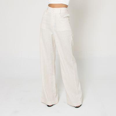 Calca-Pantalona-de-Linho-Lady-Rock-Branco-Frente