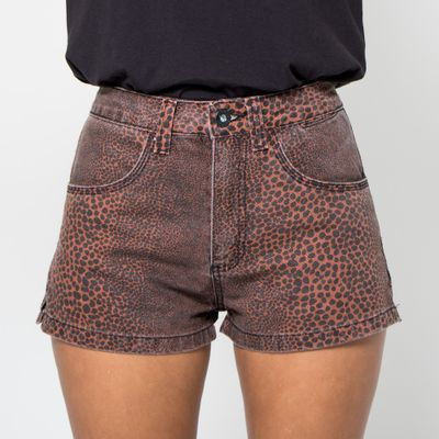 Short-Confort-Lady-Rock-Estampa-Mini-Onca-Frente