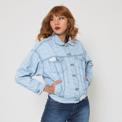 Jaqueta-Oversized-Lady-Rock-Tigre-Jeans-Lavagem-Clara-Frente