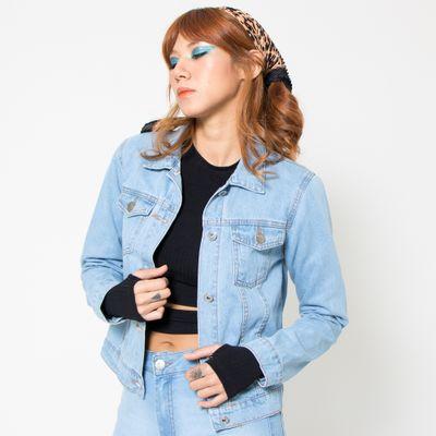 Jaqueta-Jeans-Media-Lady-Rock-Lavagem-Clara-Frente