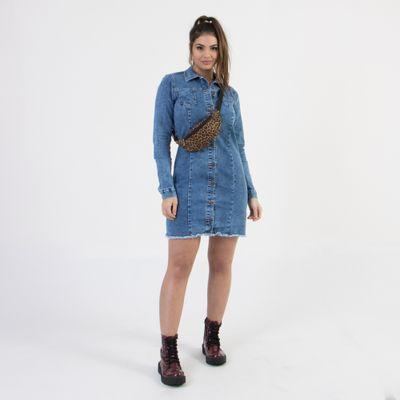 Camisa-Chemise-Lady-Rock-Lavagem-Media-Frente