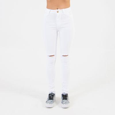 Calca-Hot-Pants-Branca-com-Rasgo-no-Joelho-Frente