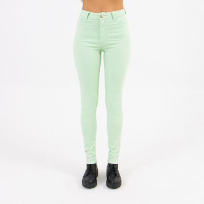 Calca-Hot-Pants-Lady-Rock-Verde-Candy-Frente