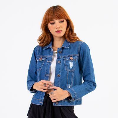 Jaqueta-Media-Lady-Rock-Jeans-Medio-com-Puidos-Frente