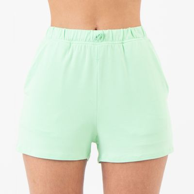 Short-Comfort-com-Amarracao-Verde-Lady-Rock-Frente