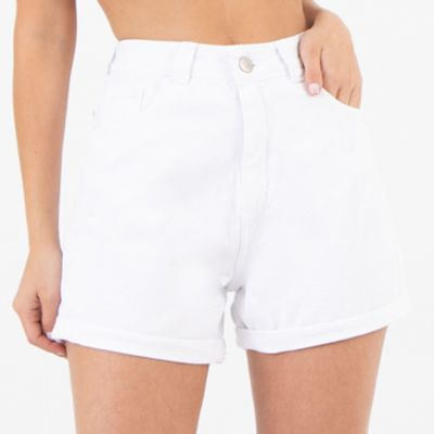 Short-Mom-Branco-Lady-Rock-Frente