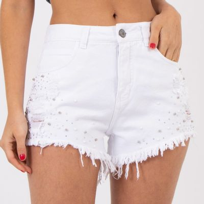 Short-Hot-Pants-Branco-com-Aplicacoes-Lady-Rock-Frente