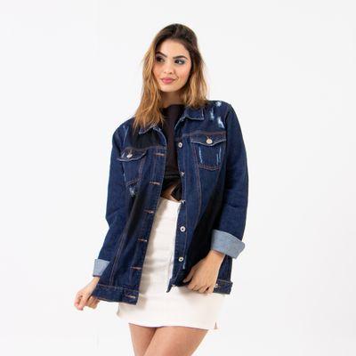 Jaqueta-Maxi-Lavagem-Escura-Lady-Rock-Frente