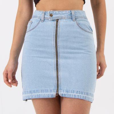 Saia-Hot-Pants-com-Ziper-Lavagem-Clara-Lady-Rock