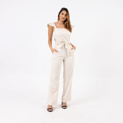 Macacao-Pantalona-Longo-Off-White-Lady--Rock-Frente
