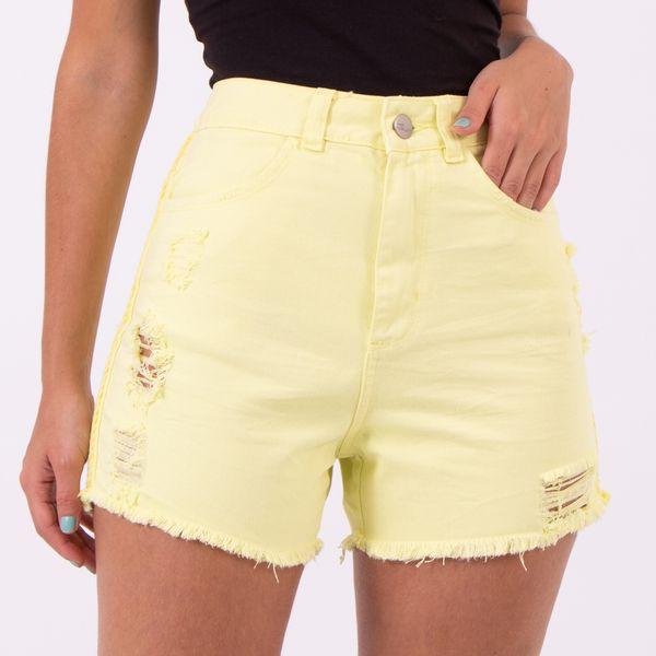 Short-hot-Pants-Lima-Destroyed-Lady-Rock-Frente