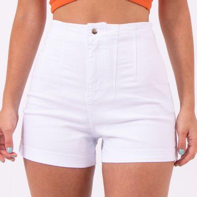 Short-Hot-Pants-Branco-com-Pences-Lady-Rock-Frente-