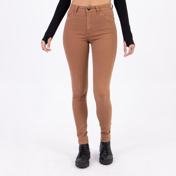 Calca-Color-Hot-Pants-Caramelo-Lady-Rock-Frente