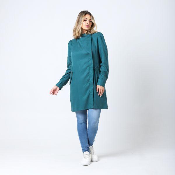 Casaco-Fashion-Verde-Sarge-Lady-Rock-Frente