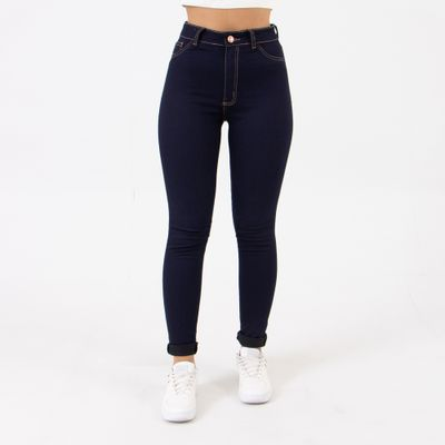 Calca-Hot-Pants-Azul-Carbono-Lady-Rock-Frente