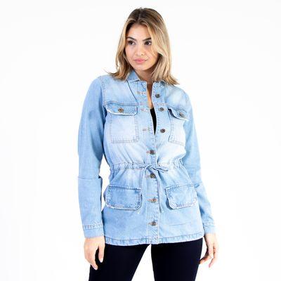 Parka-Jeans-Lavagem-Clara-Lady-Rock-Frente