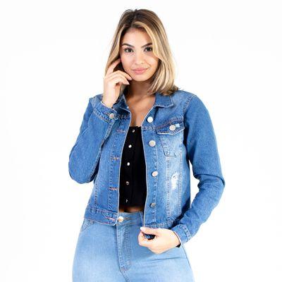 Jaqueta-Jeans-Lavagem-Media-Lady-Rock-Frente