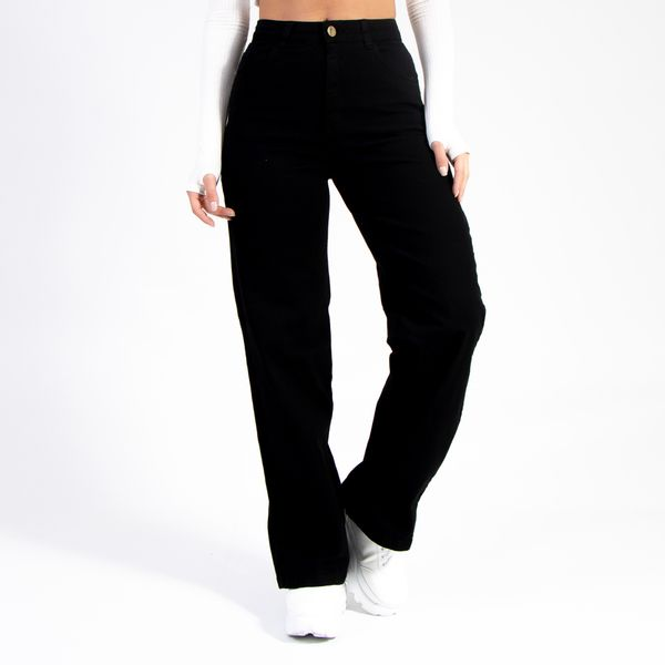 Calca-Pantalona-Preta-Lady-Rock-Frente