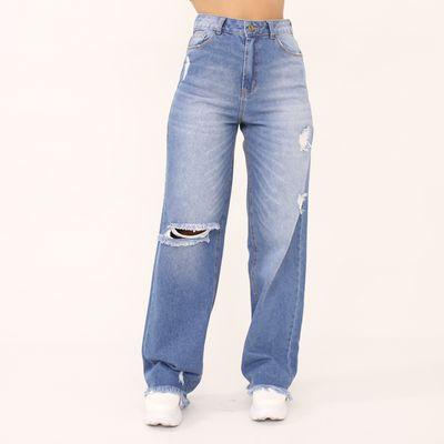 Calca-Pantalona-Lavagem-Media-Lady-Rock-Frente