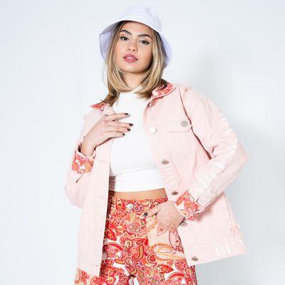Jaqueta-Maxi-ON-STAGE-Rose-Paisley-Lady-Rock-Frente