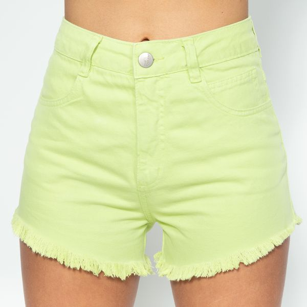 Short-Hot-Pants-Verde-Lima-Lady-Rock-SH11396-frente