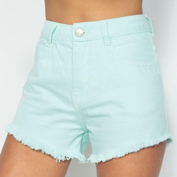 Short-Hot-Pants-Verde-Acqua-Lady-Rock-SH11395-frente