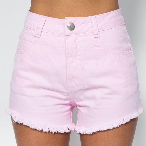 Short-Hot-Pants-Rosa-Candy-Lady-Rock-SH11394-frente